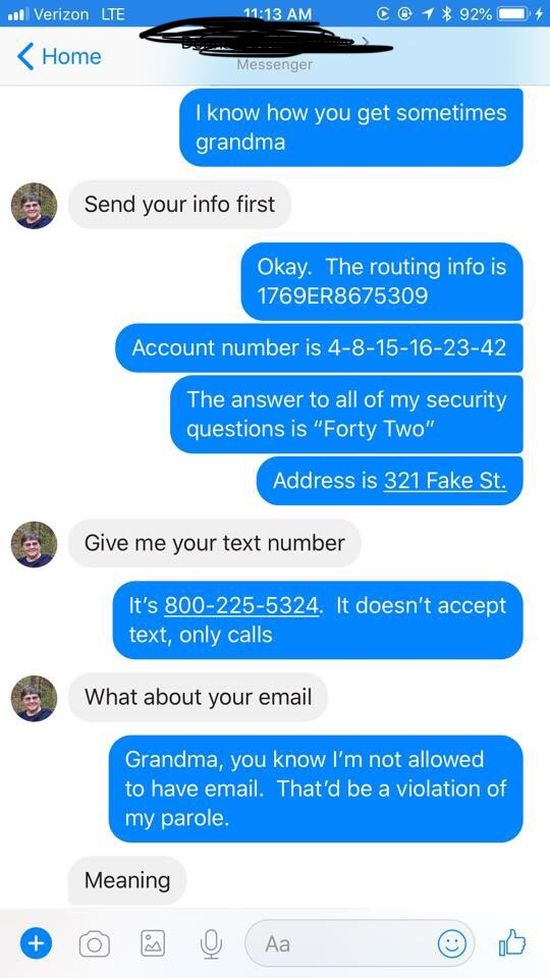 Woman Trolls iTunes Scammer