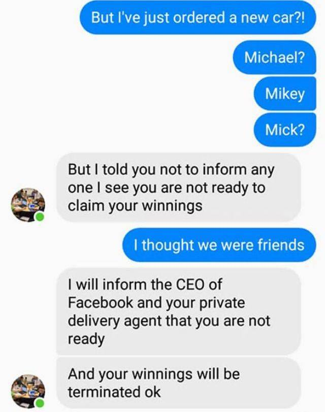 Another Scammer Gets Trolled