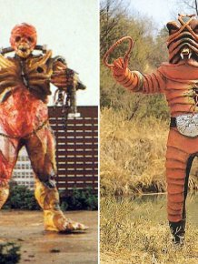 Vintage Japanese Movie Monsters