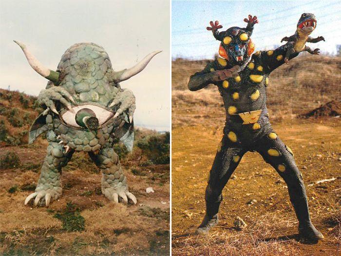 Vintage Japanese Movie Monsters