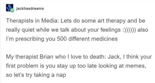 Real Life Therapists Vs Therapists Portrayed In Media