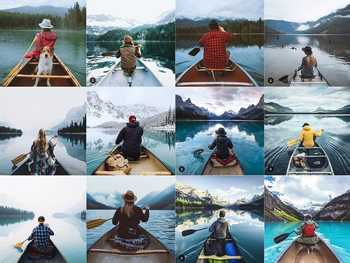 The Most Typical Photos From Social Networks