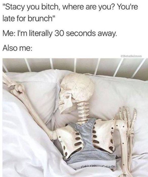 Memes About Being Late