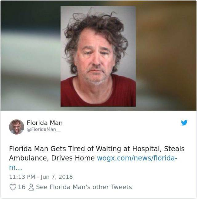 Florida Is A Strange Place