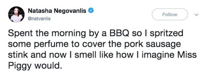 BBQ tweets