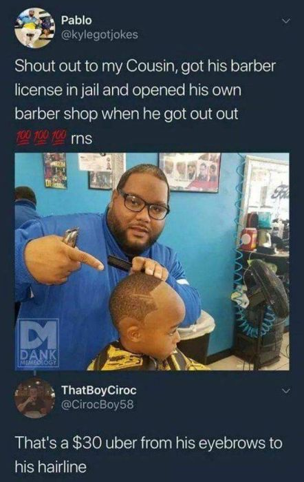 Funny Haircuts, part 2