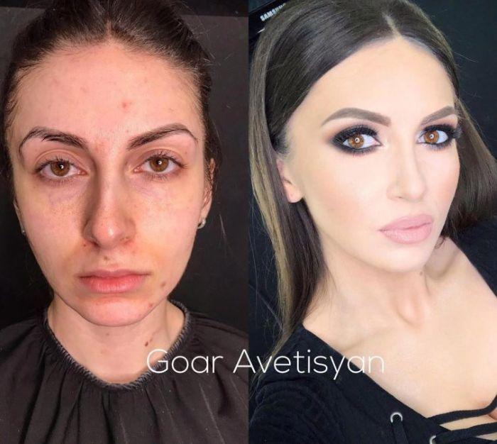With And Without Makeup, part 4