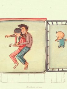 Funny Animations On How It Really Is To Raising A Child