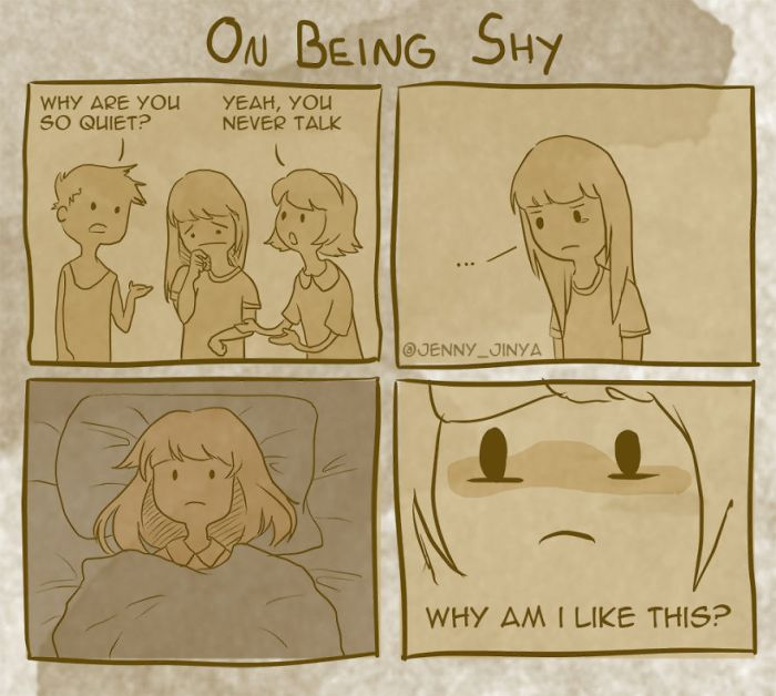 What It's Like To Be Very Shy