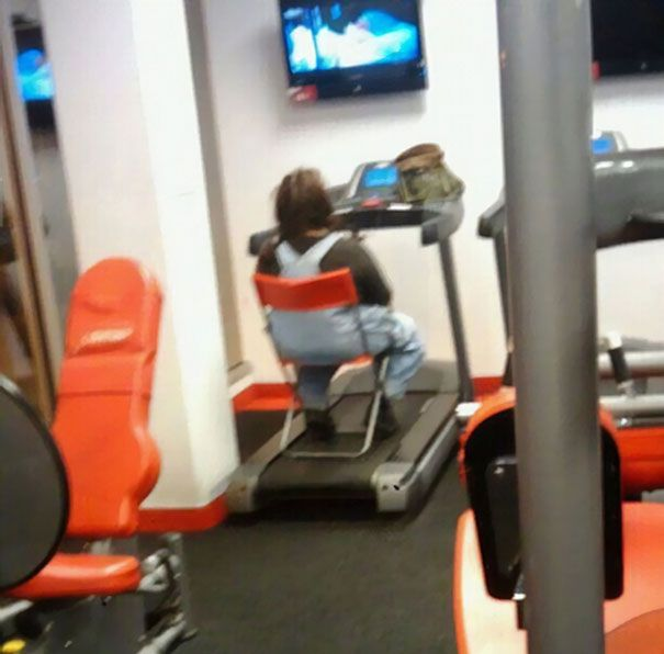 Strange Things At The Gym