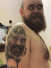 Tattoo Face Swaps