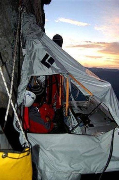How Climbers Sleep
