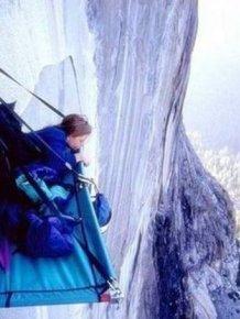 How Climbers Sleep