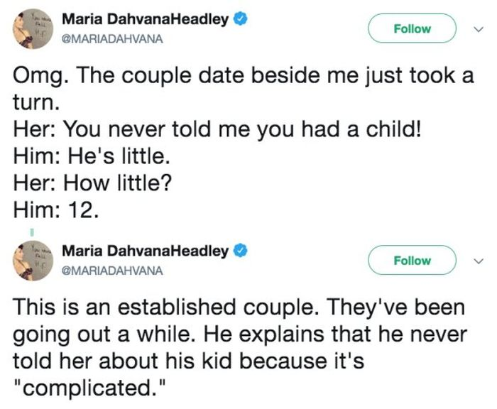 Douche Of A Boyfriend Failed To Inform He Had A Child