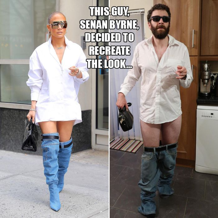 Comedian Mocks Jennifer Lopez's New Look