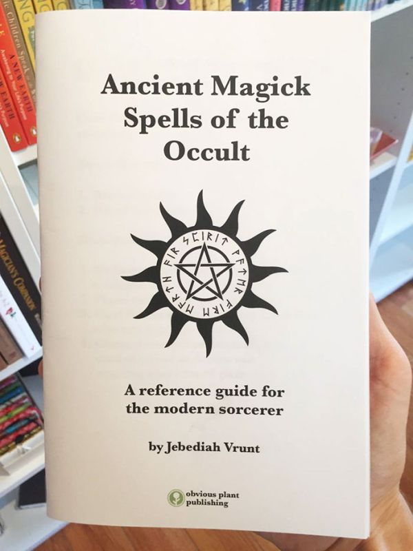 This Guy Left A Fake Book Of Spells In An Occult Shop And It's Hilarious
