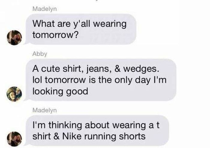 There Are Two Types Of Girls
