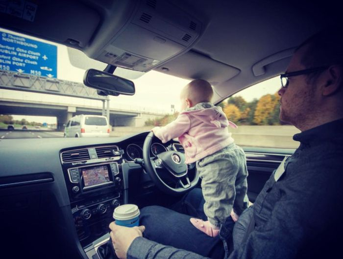 Dad Photoshops Daughter Into Dangerous Situations To Freak Out Relatives