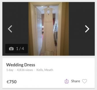 Guy Sells His Cheating Fiance's Wedding Dress To Pay For Beer And Prostitutes