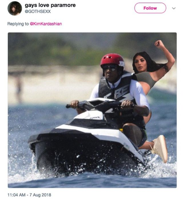 Funny Photoshops Of Kim Kardashian's Photo