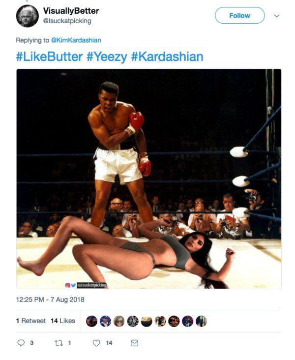 Funny Photoshops Of Kim Kardashian's Photo