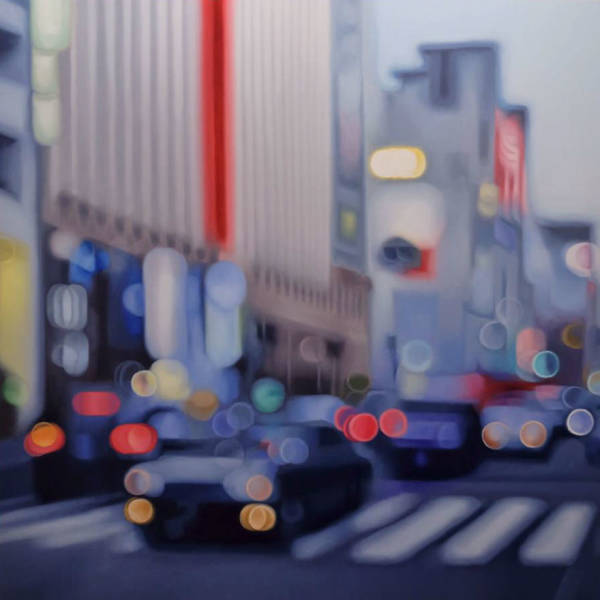 This Artist Hyperrealistically Draws The World Of People With Bad Eyesight