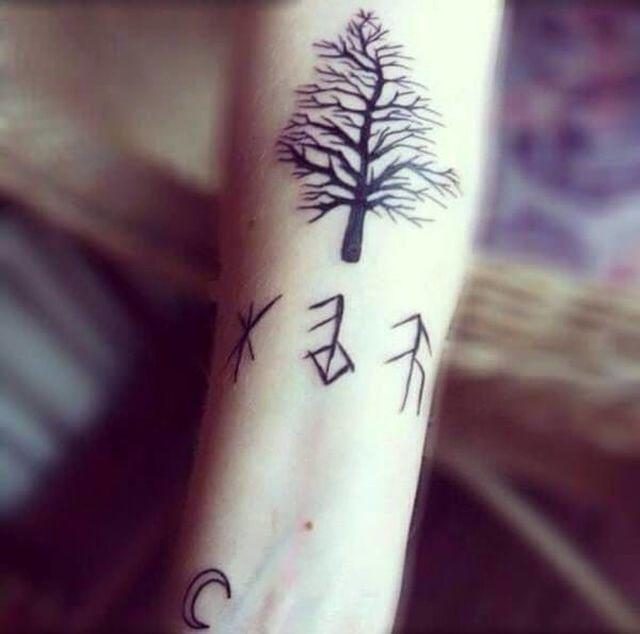 Cool Minimalistic Tattoos