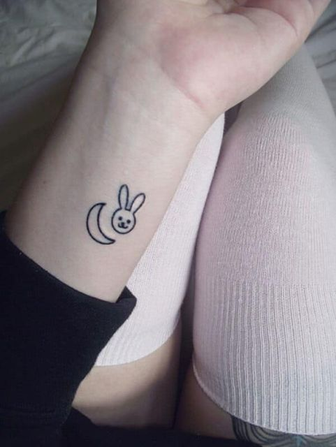 Cool Minimalistic Tattoos