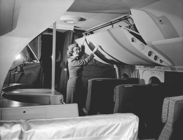Flying Back In The 1950s