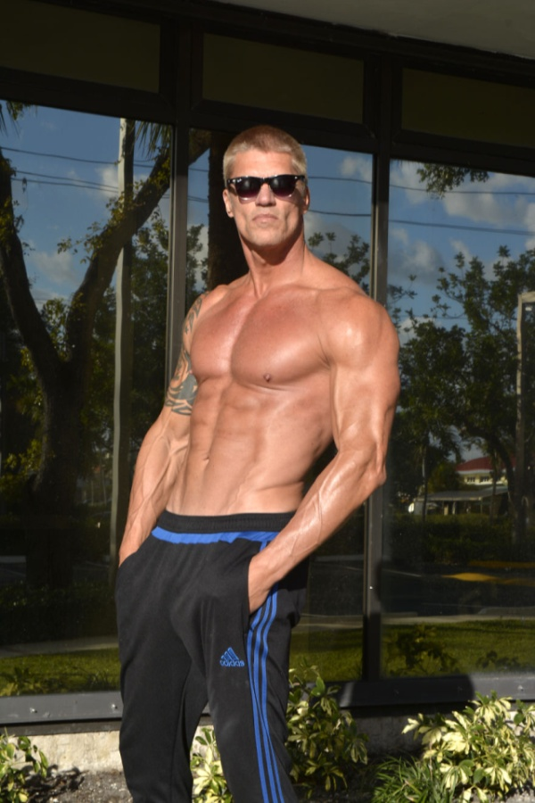 A 54-Year-Old Man Shows Determination And Willpower