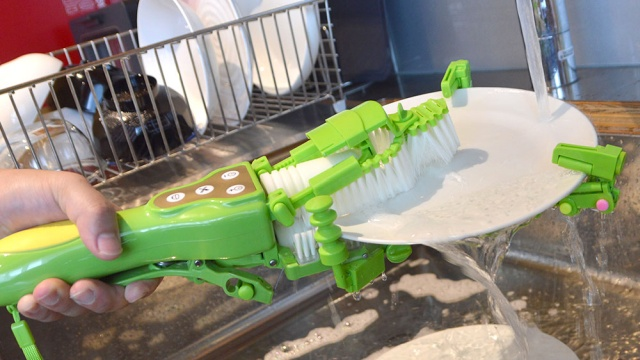 Motorized Handheld Dish Scrubber