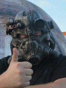 DIY Fallout Helmet T45D
