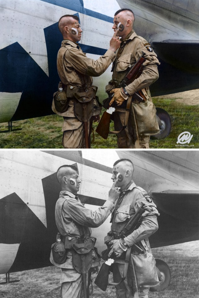 Old Black & White Photos Colorized