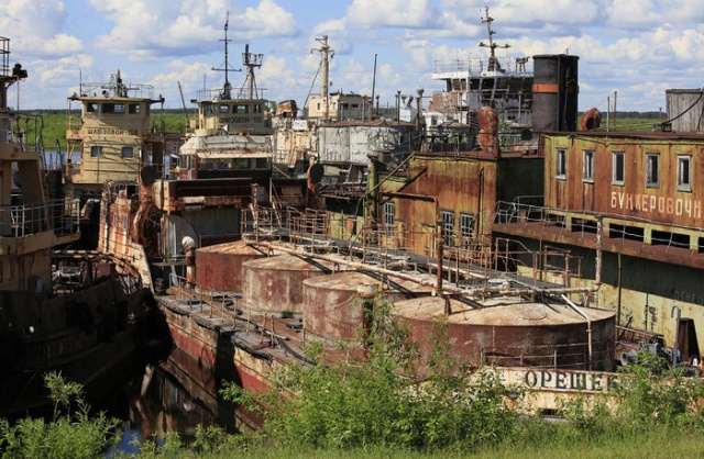 Abandoned Objects In Russia