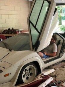 Grandma's 1981 Lamborghini Countach