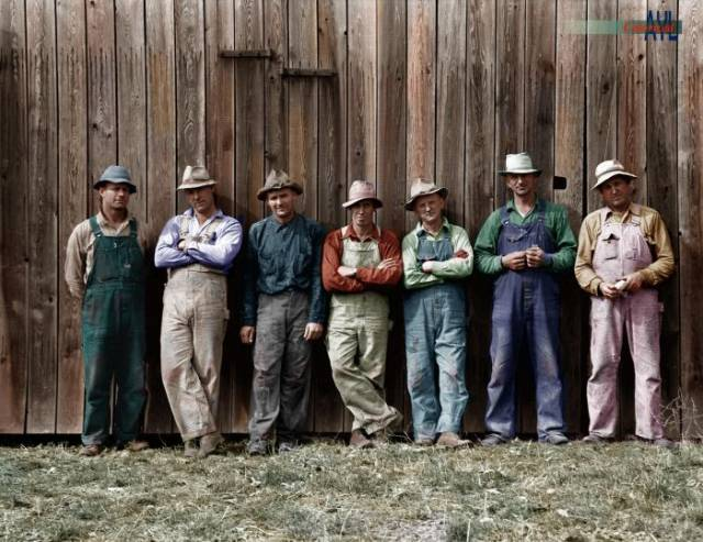 Old America In Color