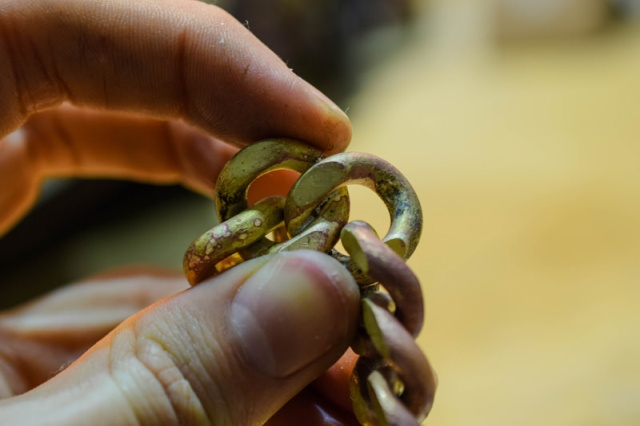 Making A Cuban Chain With A Box Clasp
