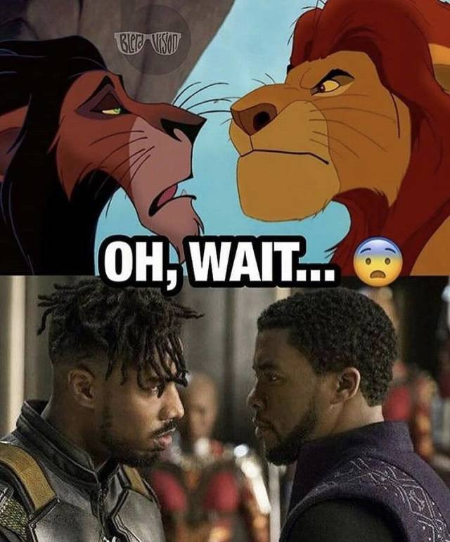"""Was """"Black Panther"""" Copied From """"The Lion King""""?"""