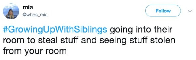 Tweets That Everyone With A Sibling Can Relate To