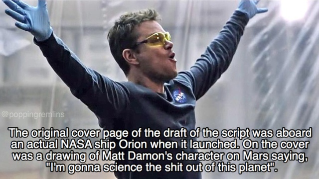 Facts About 'The Martian'