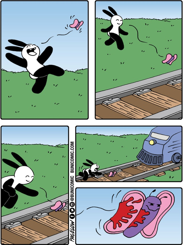 Bunny Comics That Often Don't End Well