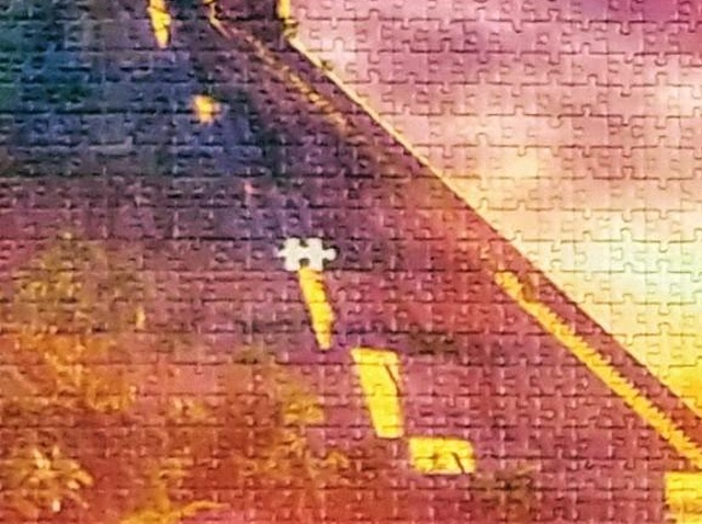 18,000-Piece Puzzle That Took A Year To Complete Has One Missing Piece