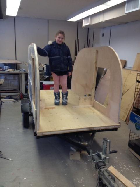 DIY House On Wheels