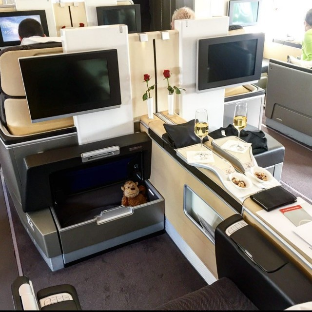 First Class In Different Airlines