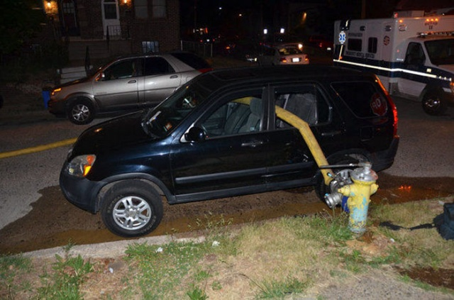 Never Park Next To Fire Hydrants