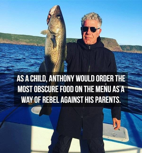 Facts About Anthony Bourdain