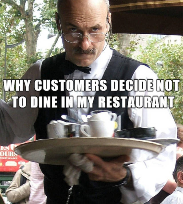 Working At A Restaurant Could Be A Real Challenge