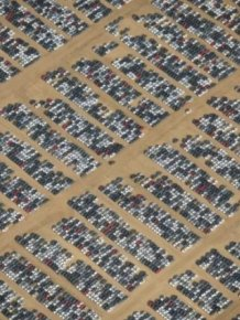 Car And Aircraft Cemetery In The California Desert