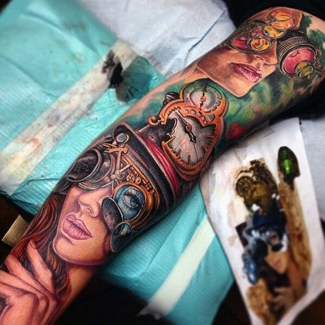Steampunk Tattoos