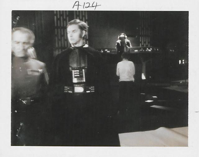 Polaroid Photos Taken During the Making of 'Star Wars Episode IV: A New Hope'